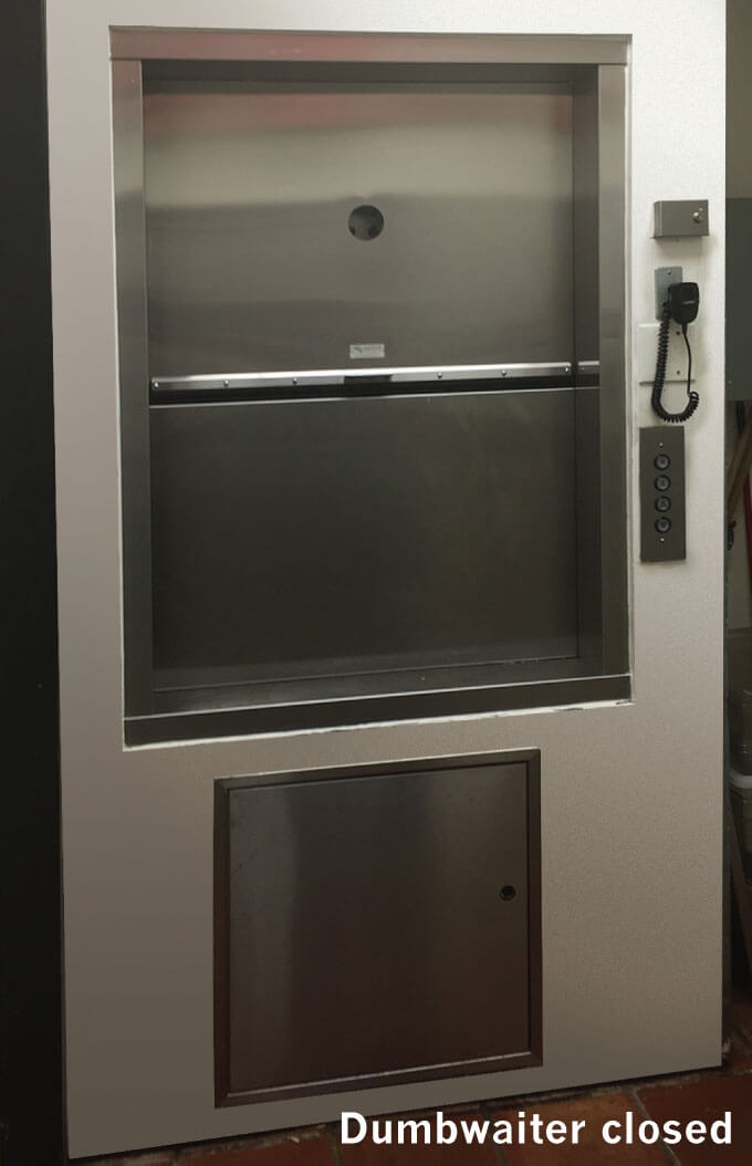 Restaurant Food Dumbwaiter